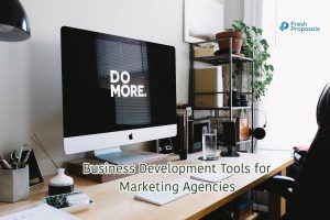 Sales Development Tools for Marketing Agency