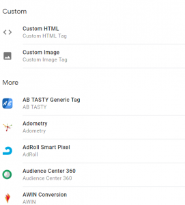 Google Tag Manager - Set Custom Tags