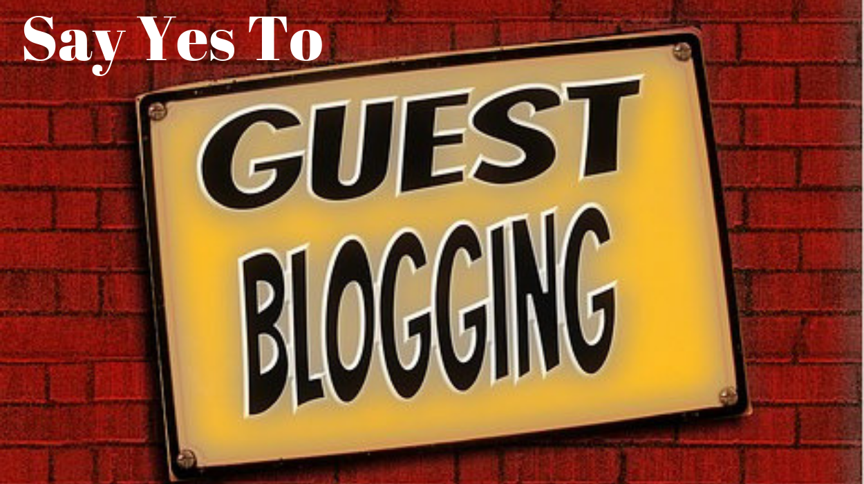 Guest Blogging- Only thing that will cost you is your time