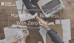 Zero Budget marketing ideas and tools for small businesses