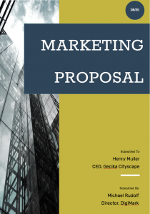 Proposal Cover Page 4