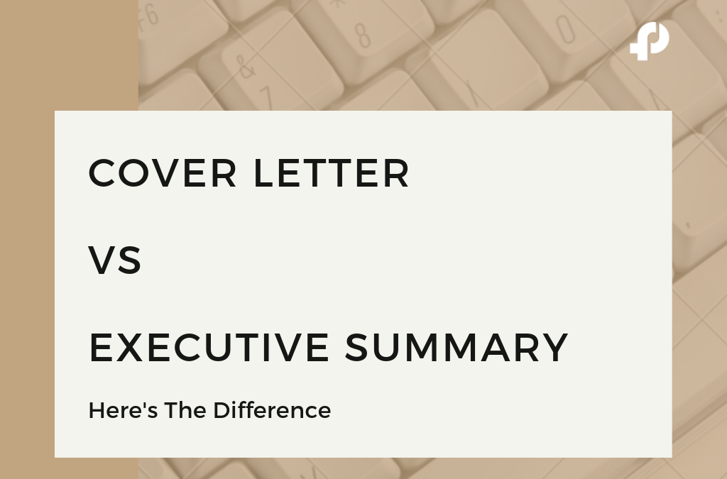 Sales Proposal Cover Letter Vs Executive Summary