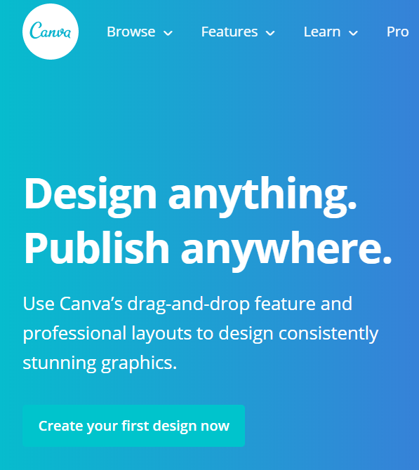 Canva is one of the best tools used for designing social media posts