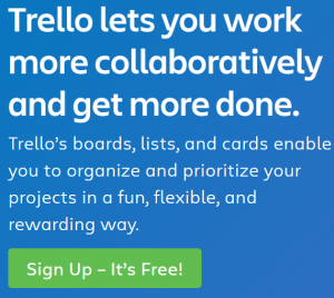 Trello is super easy to use collaboration software tool used by teams working on multiple projects