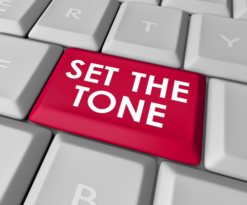 right tone is the key to success