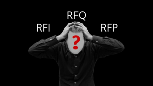 RFI, RFQ and RFP