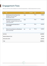 Accounting Proposal Template - Fees