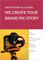 Corporate Photography Videography Proposal Template - Cover Page