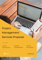 Project Management Proposal Template - Cover Page