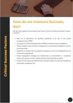 Project Management Proposal Template - KPIs