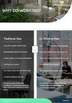 Coworking Proposal Template - Benefits