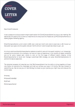 SEO Proposal Template - Cover Letter