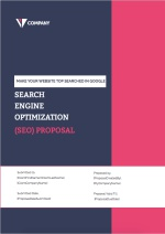 SEO Proposal Template - Cover Page