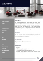 Architecture Proposal Template - About Us