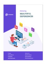 Website Design Proposal Template - Cover Page