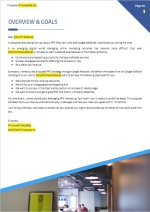 Google Adwords PPC Proposal Template - Cover Letter