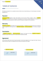 Google Adwords Proposal - Terms of Services