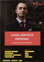 Legal Services Proposal - Cover Page