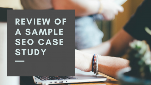 review of SEO proposal's Case study section