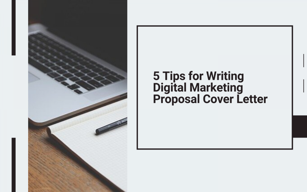 How to Write a Cover Letter for Digital Marketing Proposal