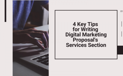 How to Write Services Section for Digital Marketing Proposal